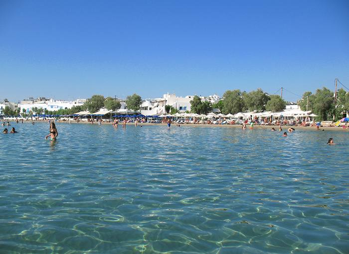 Saint George Beach in Naxos